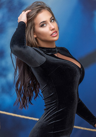 Most gorgeous women: Maria from Lviv, blue sapphire, Russian lady